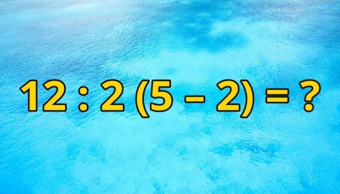 Чи зможете Ви розв'язати цей простий приклад?