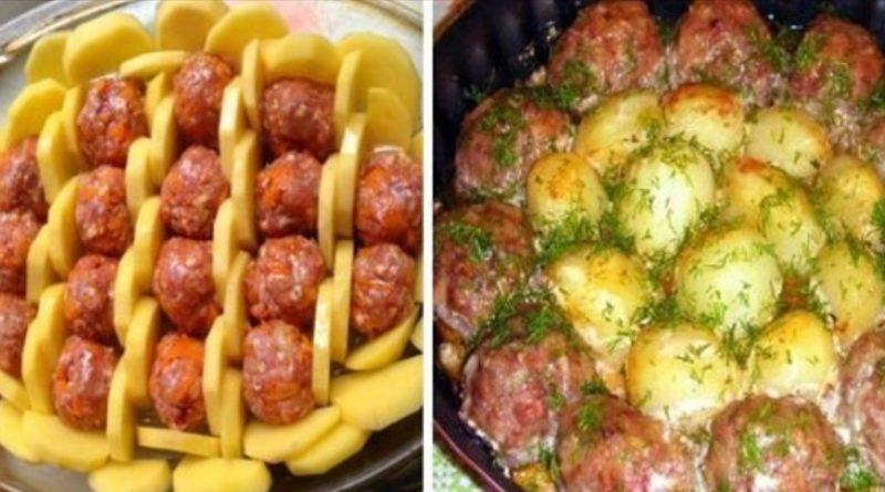 Дуже ситна запіканка з картоплі та фаршу: настільки смачно, що неможливо відірватися
