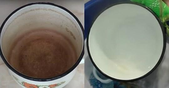 Копійчаний спосіб чистки емальованого посуду, який повинна знати кожна господиня …