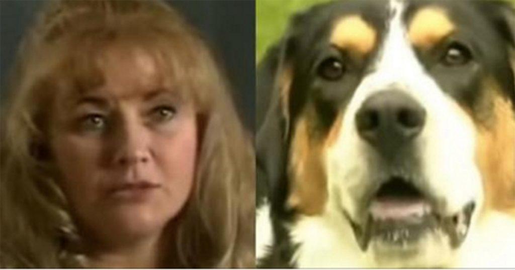 Жінка лежала у ванні, коли собака вкусила її за руку. Вийшовши з ванної кімнати, вона була ошелешена