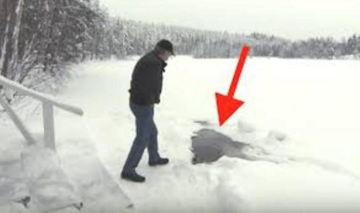Це неймовірно! Щоранку чоловік приходить на озеро, щоб зустрітися … Ви сильно здивуєтесь, з ким!