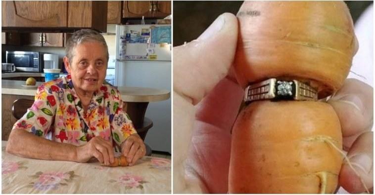Жінка дуже довго ридала після того, як втратила обручку. 13 років по тому, вона знайшла її в несподіваному місці …
