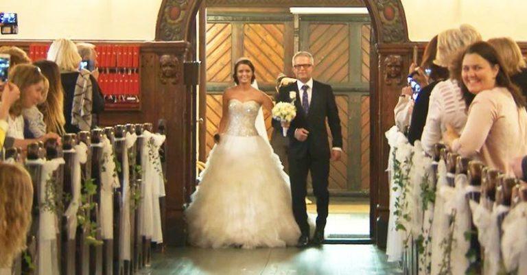 47 000 000 переглядів! Навіть наречений втратив дар мови!Ця наречена потрясла всіх присутніх в церкві