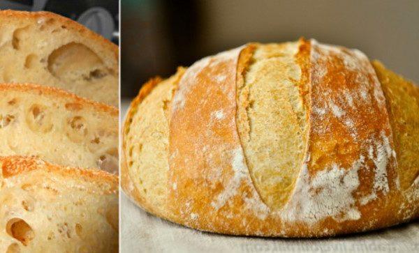 Сільська кухарка, яка пече коровай на весілля дала рецепт! Дуже простий рецепт домашнього хліба без замішування: пишний, духм'яний, з хрусткою скоринкою та надзвичайно смачний!