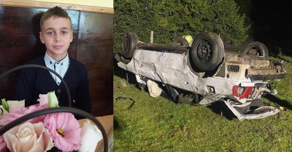 У ДТП на Закарпатті загинула 12-річна дитина: батько хлопчика був п'яним за кермом
